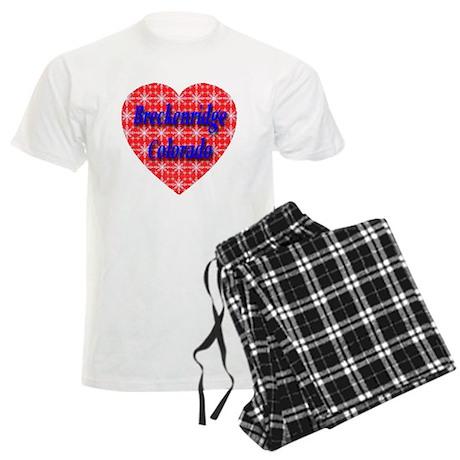 Breckenridge Snowflake Heart Men's Light Pajamas