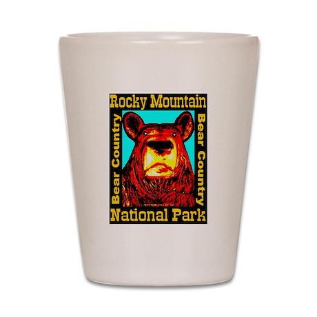 Rocky Mountain National Park Shot Glass