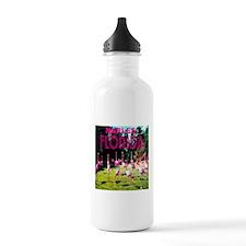 Naples Florida Flock of Flami Water Bottle