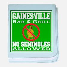 Gainesville Bar & Grill baby blanket