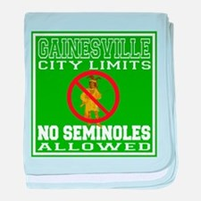 Gainesville City Limits baby blanket