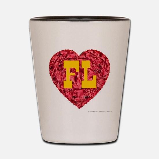 I Love FL Shot Glass