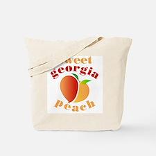 Sweet Georgia Peach Tote Bag