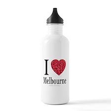 I Love Melbourne Water Bottle