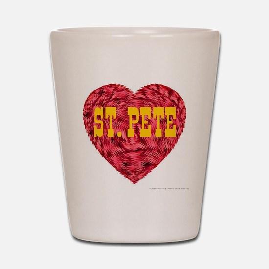I Love St. Pete Shot Glass
