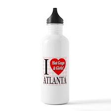 I Love Atlanta Hot Guys & Gir Water Bottle