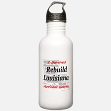 Rebuild Louisiana Water Bottle