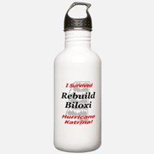 Rebuild Biloxi Water Bottle