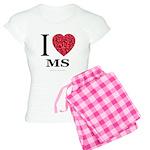 I Love MS Women's Light Pajamas