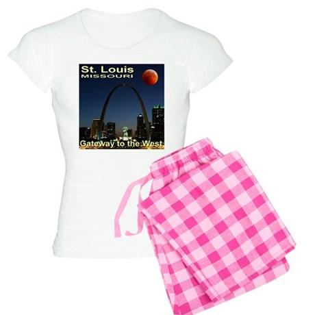 St. Louis Gateway To The West Women's Light Pajama