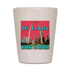 St. Louis Gateway To The West Shot Glass