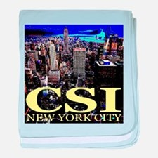 CSI New York City baby blanket