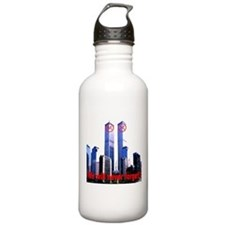 Twin Towers We Will Never For Water Bottle