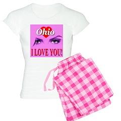 Ohio I Love You Pajamas