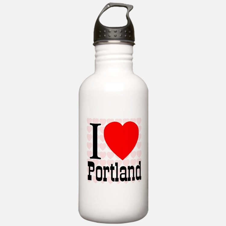 I Love Portland Water Bottle