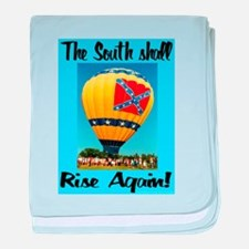 The South Shall Rise Again baby blanket