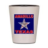 Amarillo tx Shot Glass