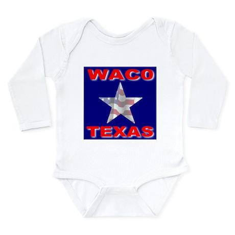 Waco Texas Long Sleeve Infant Bodysuit
