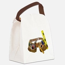 ToolBelt071809.png Canvas Lunch Bag