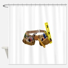 ToolBelt071809.png Shower Curtain