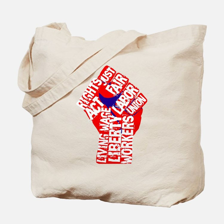 Worker's Civil Rights Tote Bag