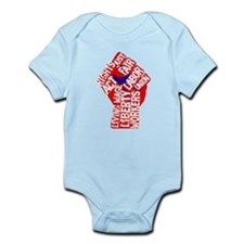 Worker's Civil Rights Infant Bodysuit