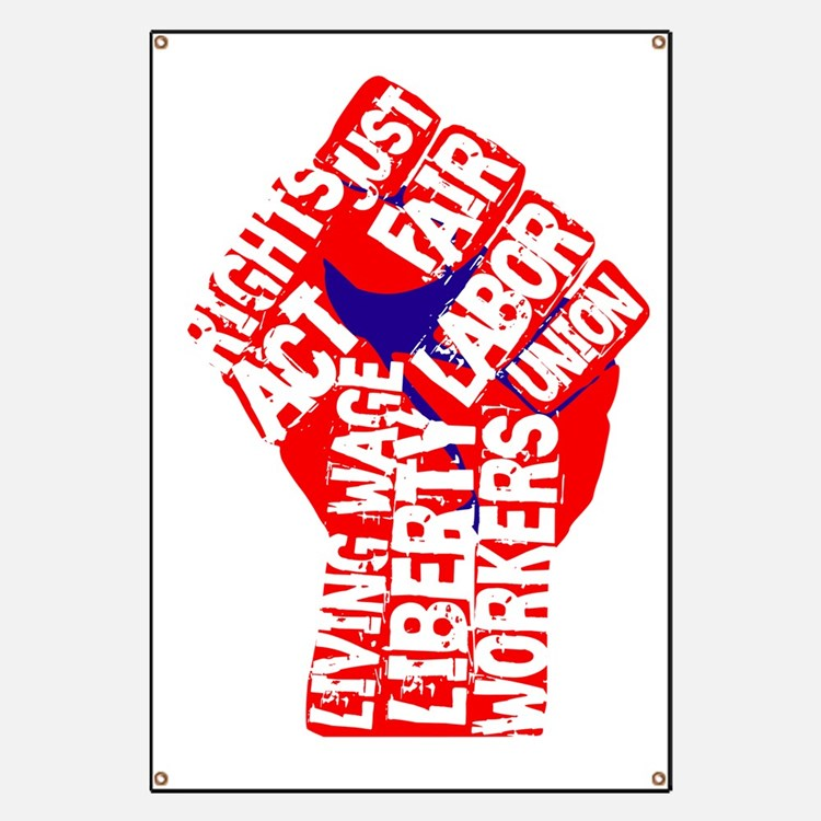 Worker's Civil Rights Banner