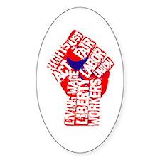 Worker's Civil Rights Bumper Stickers