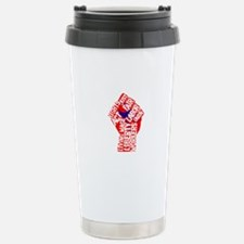 Worker's Civil Rights Stainless Steel Travel Mug