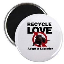 Recycle Love Magnet