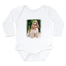 Cocker Spaniel Long Sleeve Infant Bodysuit