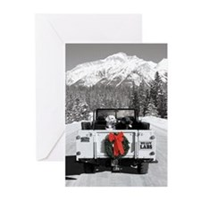 We luv Labs holiday Greeting Cards (Pk of 10)