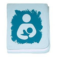 Cute Breast feeding baby blanket