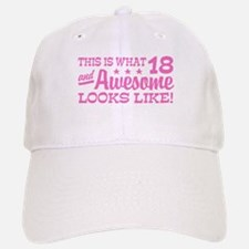 Funny 18th Birthday Baseball Baseball Cap