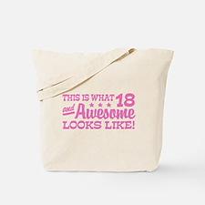 Funny 18th Birthday Tote Bag