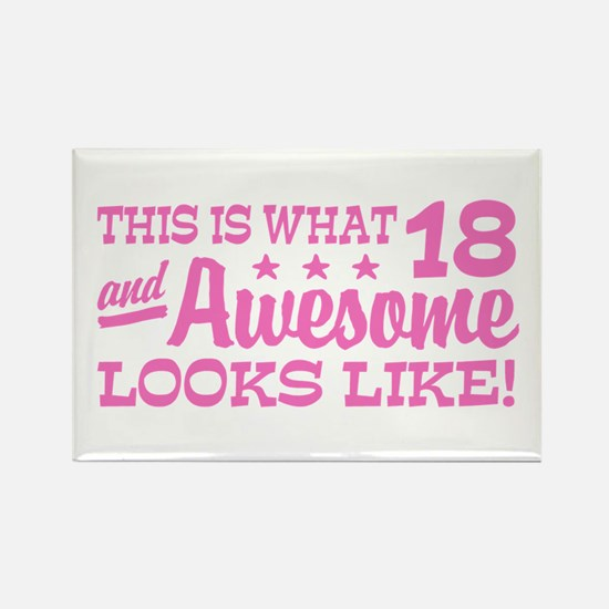 Funny 18th Birthday Rectangle Magnet