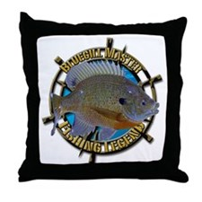 Bluegill Master Throw Pillow