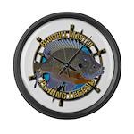 Bluegill Master Large Wall Clock