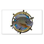 Bluegill Master Sticker (Rectangle 10 pk)