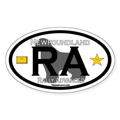 Newfoundland Rally RA Title Sticker