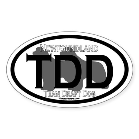 Newfoundland Team Draft Title Sticker