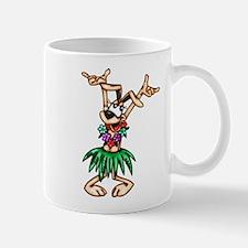 Hawaiian Cartoon Dog Mug
