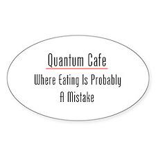 Quantum Cafe Decal