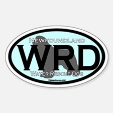 Water Rescue Dog (WRD) Oval Decal