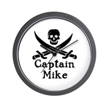 Captain Mike Wall Clock
