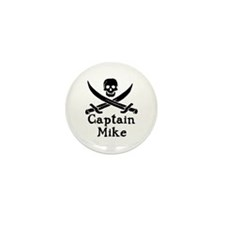 Captain Mike Mini Button (10 pack)
