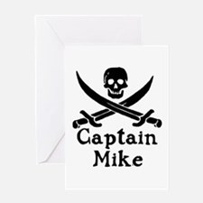 Captain Mike Greeting Card