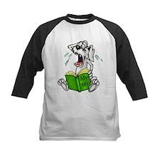 Cartoon Dog Reading Book Tee
