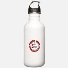 JUST VOTE NO Water Bottle