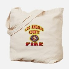 Los Angeles County Fire Tote Bag